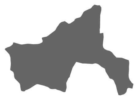 Map of Parwan, a province of Afghanistan.