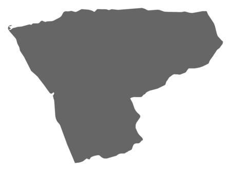 ngola: Map of Zaire, a province of Angola.