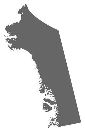municipalities: Map of Qaasuitsup, a province of Greenland.