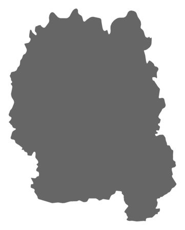 Map of Zhytomyr, a province of Ukraine.