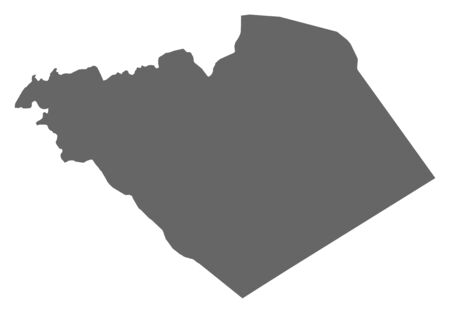 southwestern asia: Map of Homs, a province of Syria.