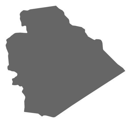 west asia: Map of As-Suwayda, a province of Syria.