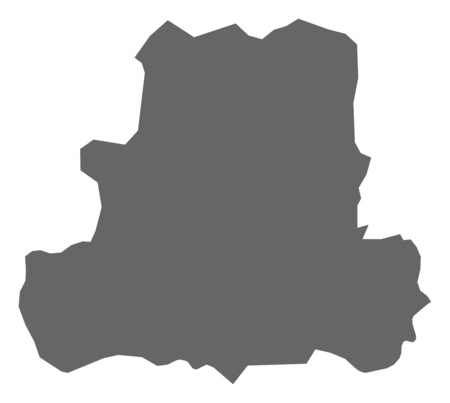 Map of Csongr?d, a province of Hungary.