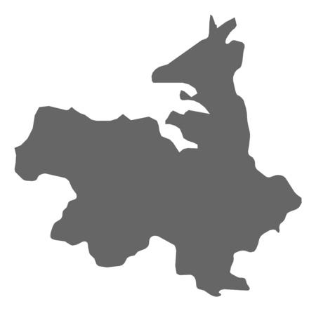 sligo: Map of Sligo, a province of Ireland.