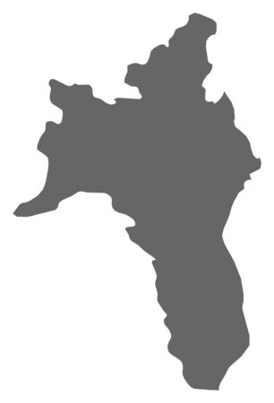 comin: Map of Roscommon, a province of Ireland.