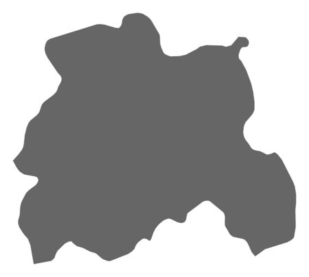 Map of Laois, a province of Ireland.