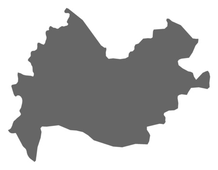 west asia: Map of Kermanshah, a province of Iran.