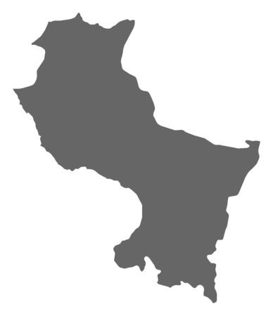 cusco province: Map of Cusco, a province of Peru.