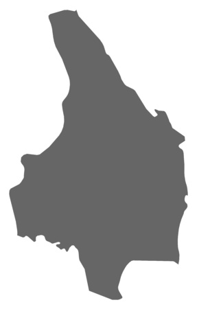 Map of V?rmland County, a province of Sweden.