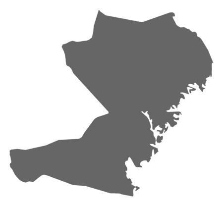 sverige: Map of V?sternorrland County, a province of Sweden.