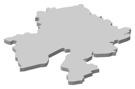 wallonie: Map of Namur, a province of Belgium.