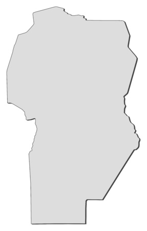 Map of C?rdoba, a province of Argentina.