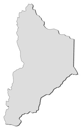 Map of Neuqu?n, a province of Argentina.