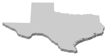 tx: Map of Texas, a province of United States.