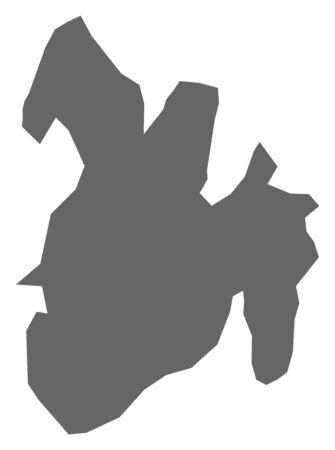 Map of Bururi, a province of Burundi.