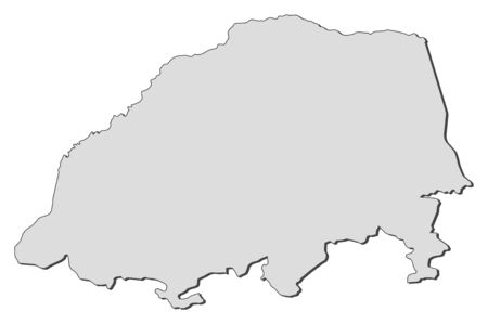 Map of Limpopo, a province of South Africa.