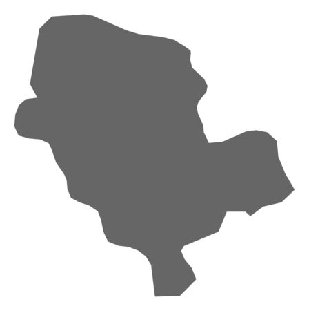 Map of Cibitoke, a province of Burundi.