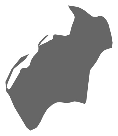 Map of Luanda, a province of Angola.