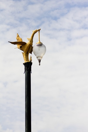 lampost: Golden Swan Lampost