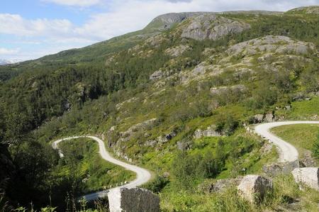 piste: Eidfjord piste out of car