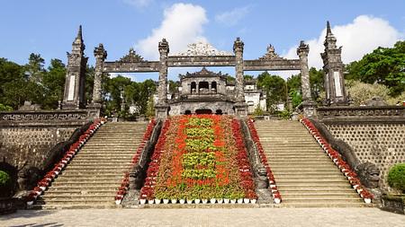 색조 베트남의 카이저 그랩