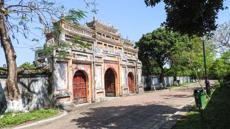 Imperial Palace in Hue Vietnam