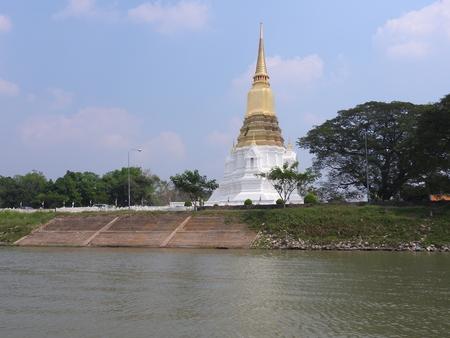 Ayutthaya former capital of the Kingdom of Siam Stock Photo - 97198944