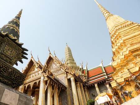 Königspalast in Bangkok Redakční