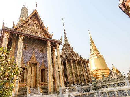 Königspalast in Bangkok Stock Photo