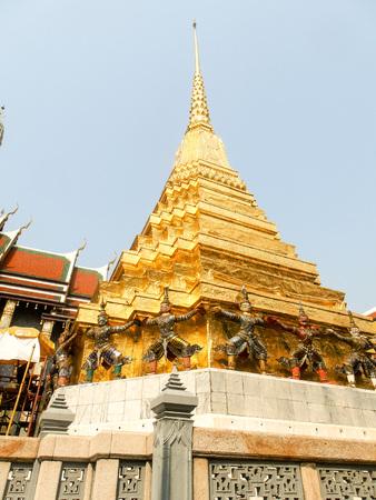 Königspalast in Bangkok Reklamní fotografie
