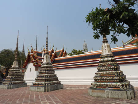 Temple complex in Thailand
