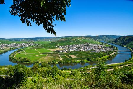 Leiwen village on the Moselle