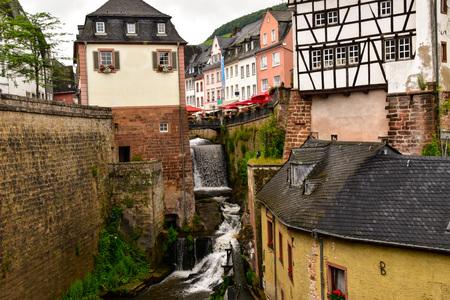 Saarburg city on the Moselle