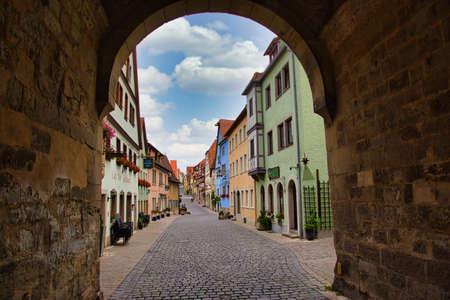 Rothenburg ob der Tauber is a German city in northern Bavaria