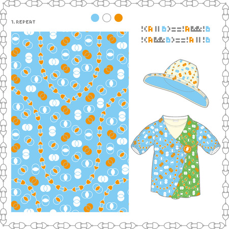 The pattern of the De Morgans laws and Child costume
