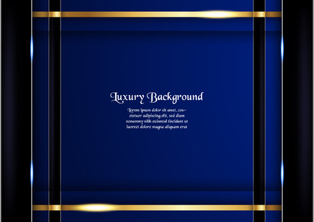 Abstract blue background in premium concept with copy space.Template design for cover, business presentation, web banner, wedding invitation and luxury packaging.