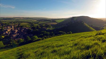 A beautiful photography spot on the south west coast of England, on the jurassic coast. 免版税图像 - 116675714