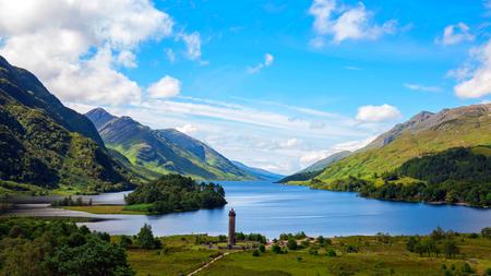 Glencoe. A dramatic shot of Glencoe in the Scottish Highlands.