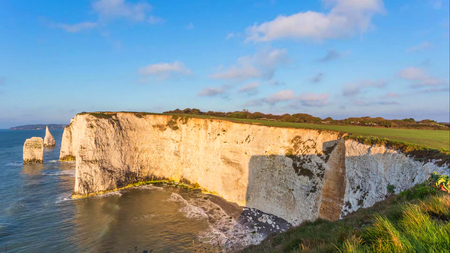 A beautiful photography spot on the south west coast of England, on the jurassic coast.