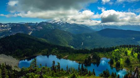Summer at Mount Rainier National Park, Washington