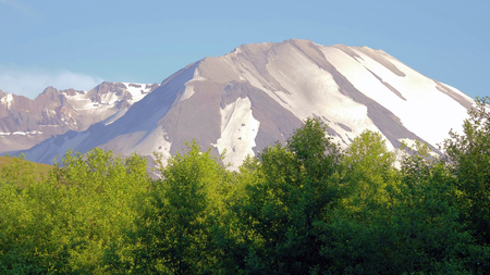 A beautiful View of Mount Saint Helens.