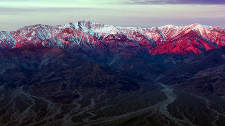 The landmarks and geologic wonder of Death Valley National Park.