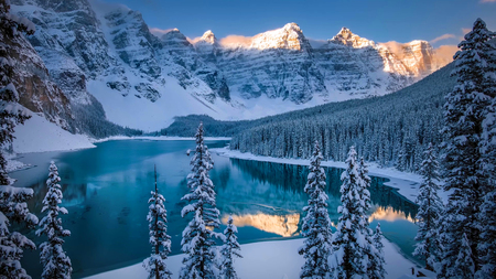 Beautiful Scene in one of the Rocky Mountain, Banff National Park - Canada Stok Fotoğraf