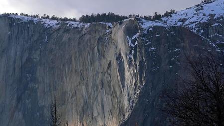 Nature Landscape of Yosemite National Park, California, USA.