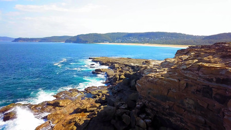 Beautiful coastal in Bouddi national park Beach near Sydney. Stock fotó - 124968133