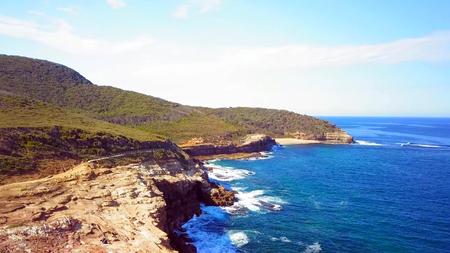 Beautiful coastal in Bouddi national park Beach near Sydney.
