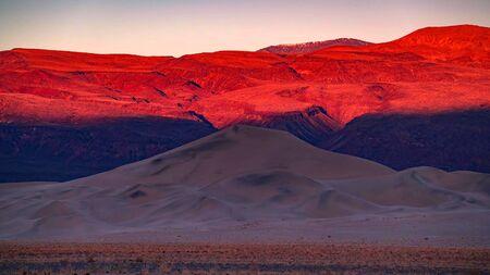 The landmarks and geologic wonder of Death Valley National Park Stock fotó - 130116418
