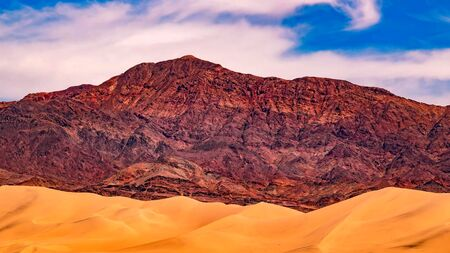 The landmarks and geologic wonder of Death Valley National Park Stock fotó - 130116442