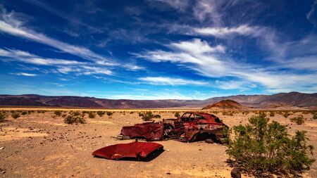 The landmarks and geologic wonder of Death Valley National Park Stock fotó - 130116477