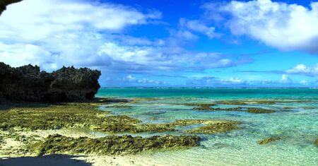 Kagoshima Prefecture Yoron Island Beach Stock fotó - 130116542